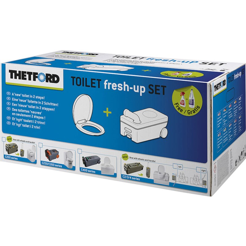 Fresh-up Set C-200 m/ hjul