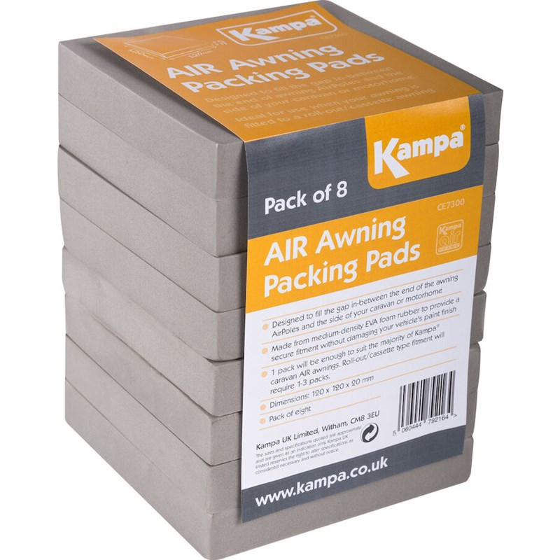 Packing Pads 8 stk KAMPA