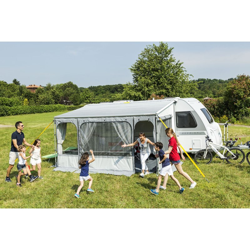 Caravanstore ZIP XL 550 Telt og markise Grey design