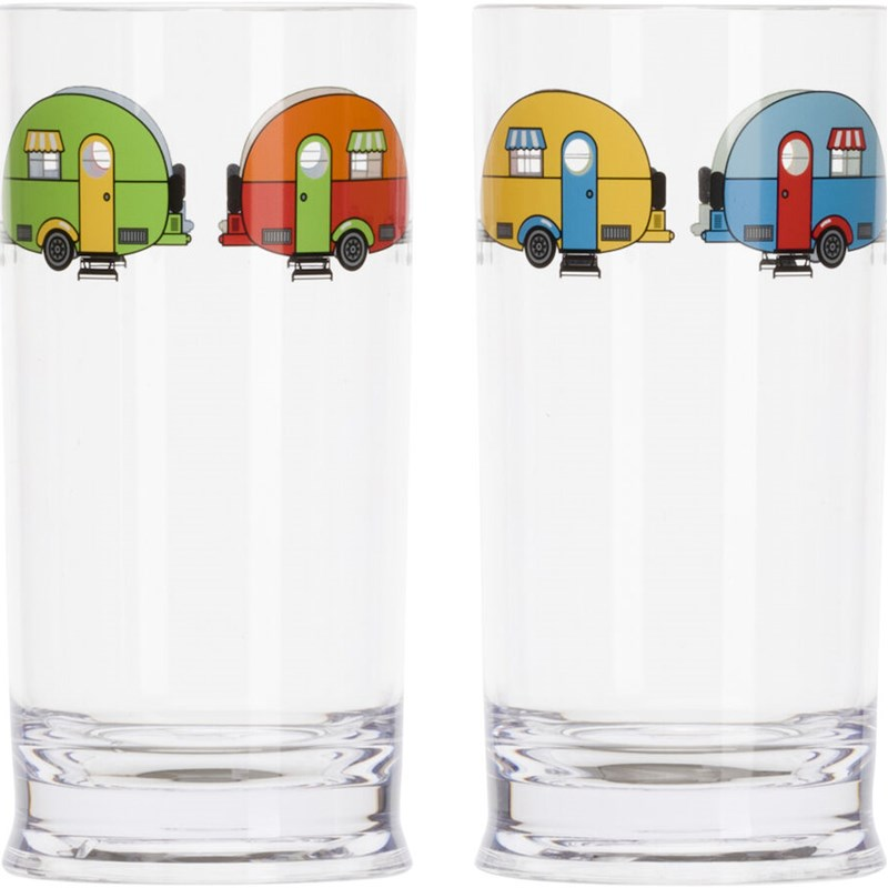 Love Caravanning Tumblerglass 48 cl 4 stk