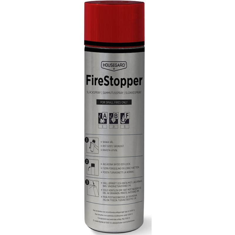 Brannslukningsapparat Firestopper Slukkeskum 600 ml